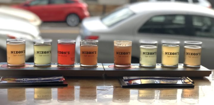 A Flight Of Kombucha At Nixon's